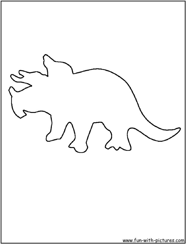 Best 25 Dinosaur outline ideas on Pinterest Dinosaur