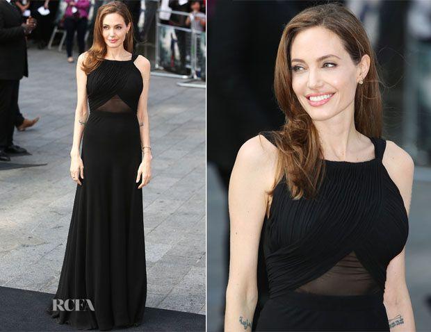 Angelina Jolie YSL