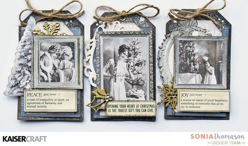 Frosted Christmas Tags – Kaisercraft Official Blog