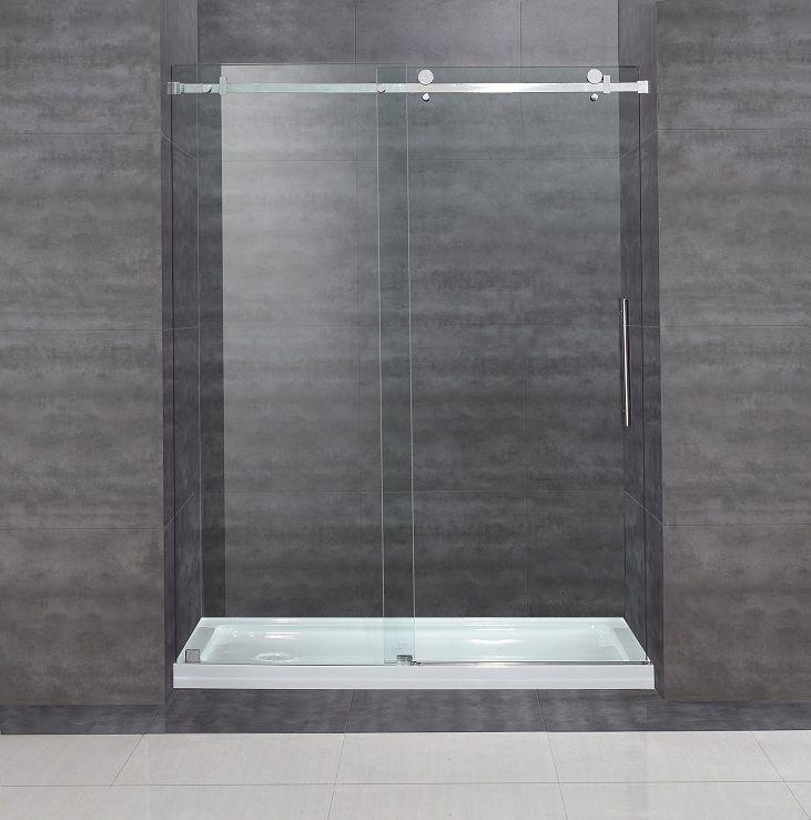 shower doors popular glass sliding for discount