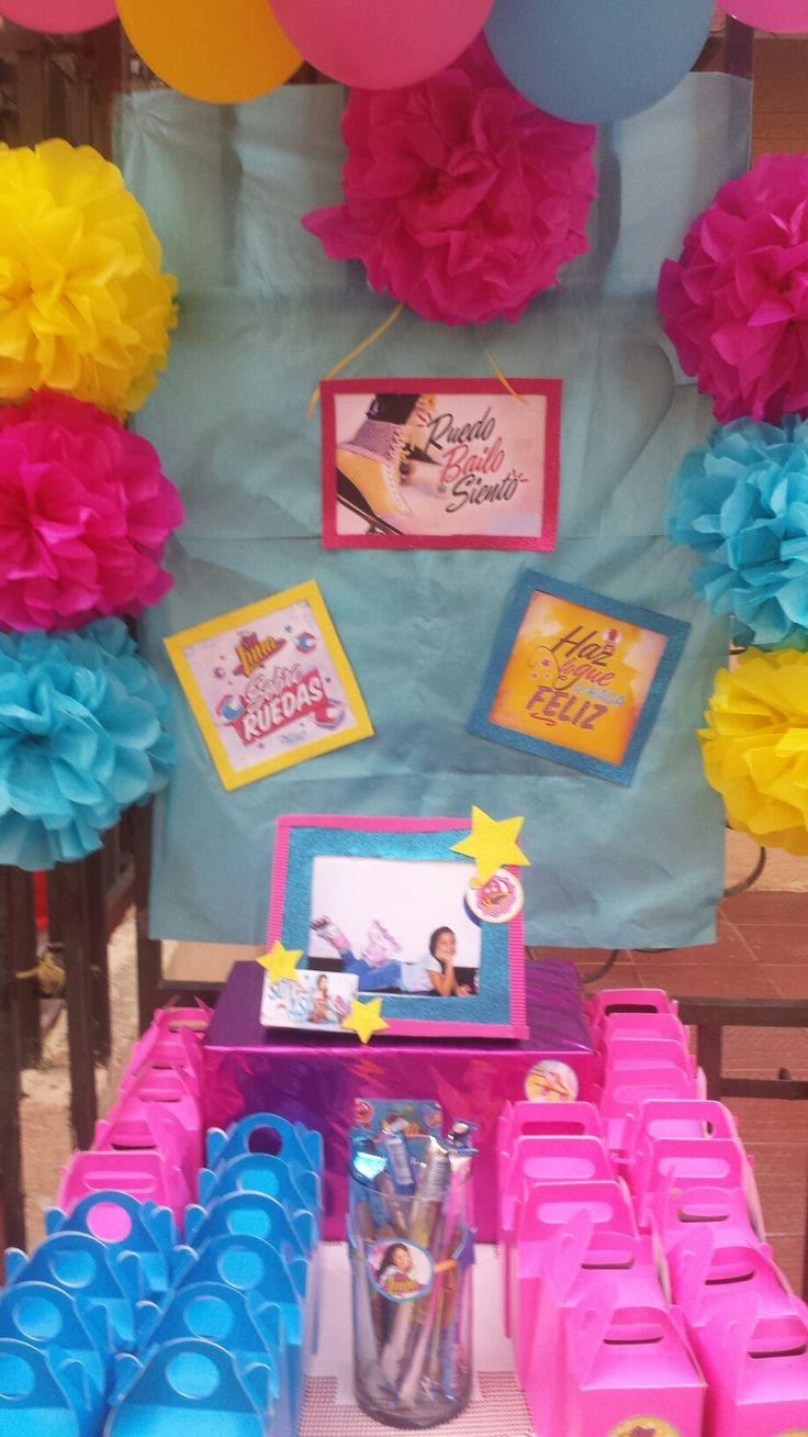 33 best fiesta soy luna images on pinterest birthdays - Decoraciones de cumpleanos ...