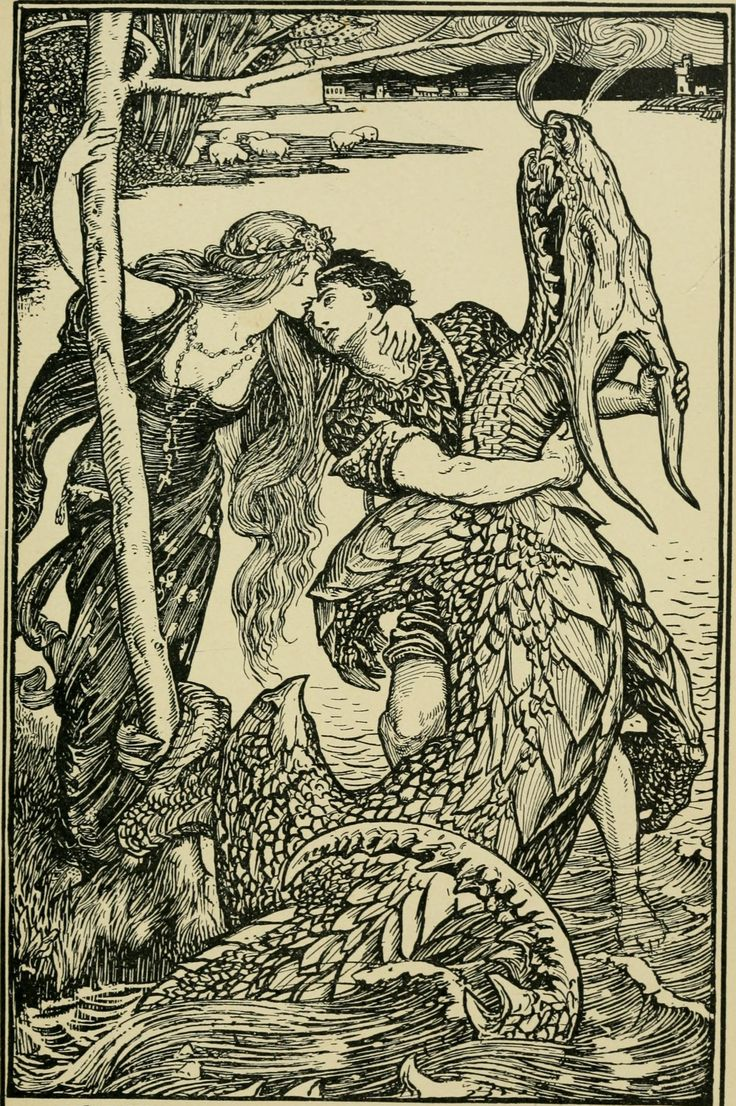 From The Crimson Fairy Book by Andrew Lang, 1903.