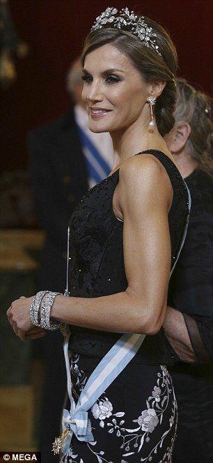 Queen Letizia...