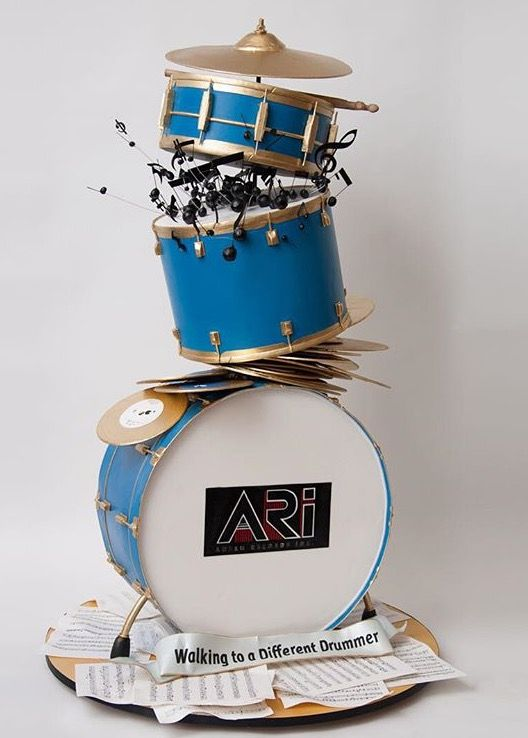 Amazing drum cake by Ron Ben-Israel Cakes ♥
