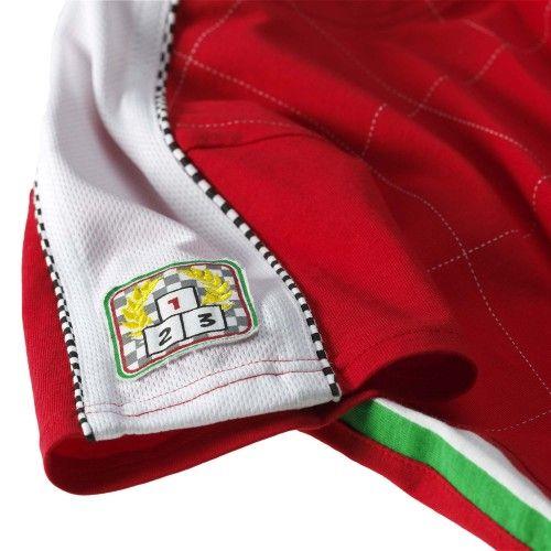 Kids Ferrari Shield #ferrari #ferraristore #tshirt #kids #infant #baby #cavallinorampante #prancinghorse #style #comfort #rossoferrari #redmaranello #style #comfort #detail #bestracer