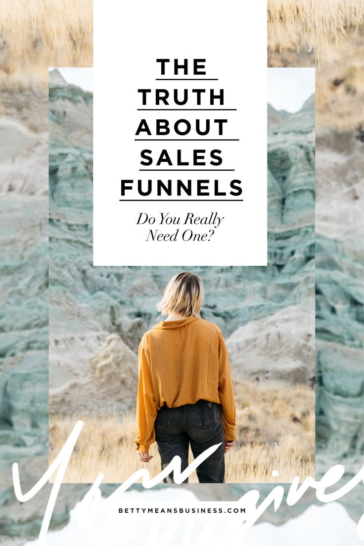 Women in yellow shirt looks across moorland - The Truth About Sales Funnels