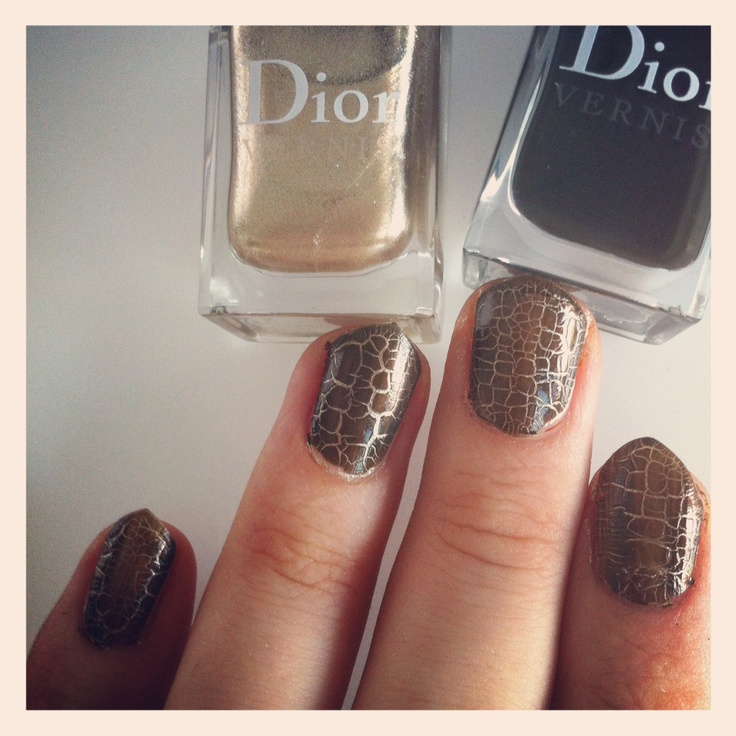 "Dior ""Crocodile"" mani, coming this fall"