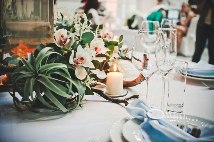 wedding reception decor. sea wedding ideas