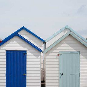 Torbay Beach Huts -Our neck of the woods.#RedsGreatBritishSeaside