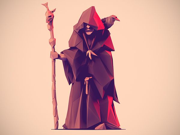 Low Poly Characters www.behance.net/gallery/20231797/Low-Poly-Characters