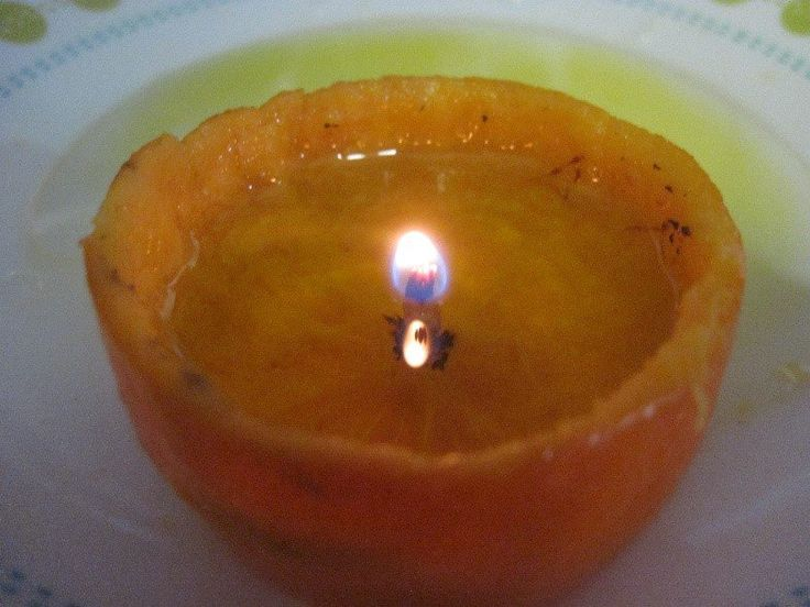 DIY Survival Candles: The Orange Lantern | Easy and Quick Survival Skills for Preppers by Survival life at http://survivallife.com/diy-survival-candles-1/