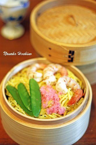 ひなまつり蒸し寿司 Mushizushi for Hina Matsuri