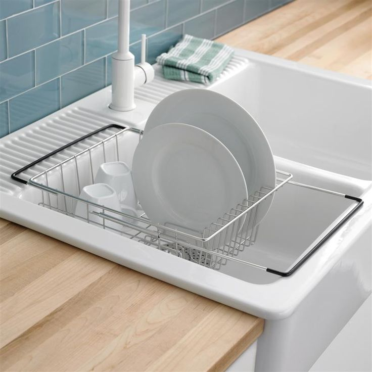 Ksp span over the sink dish rack the o 39 jays dish racks and dishes - Kitchen sink drying rack ...