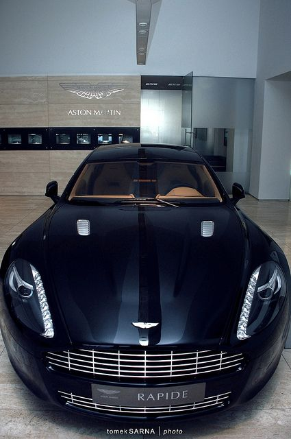 Aston Martin Rapide by tomekSARNA | photo on Flickr.
