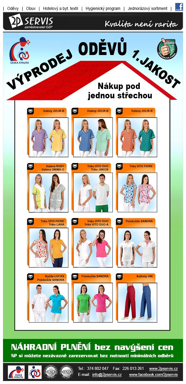 ★ ★Aktuální Výprodej oděvů 1. jakosti za zvýhodněné ceny ★ ★ --------- Prosíme o sdílení, děkujeme ---------