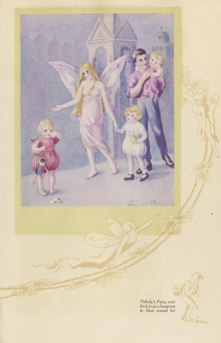 Nobody's fairy : being a story with illustrations / by Paula Brain. Publisher: Adelaide : Vardon & Sons, [1921]