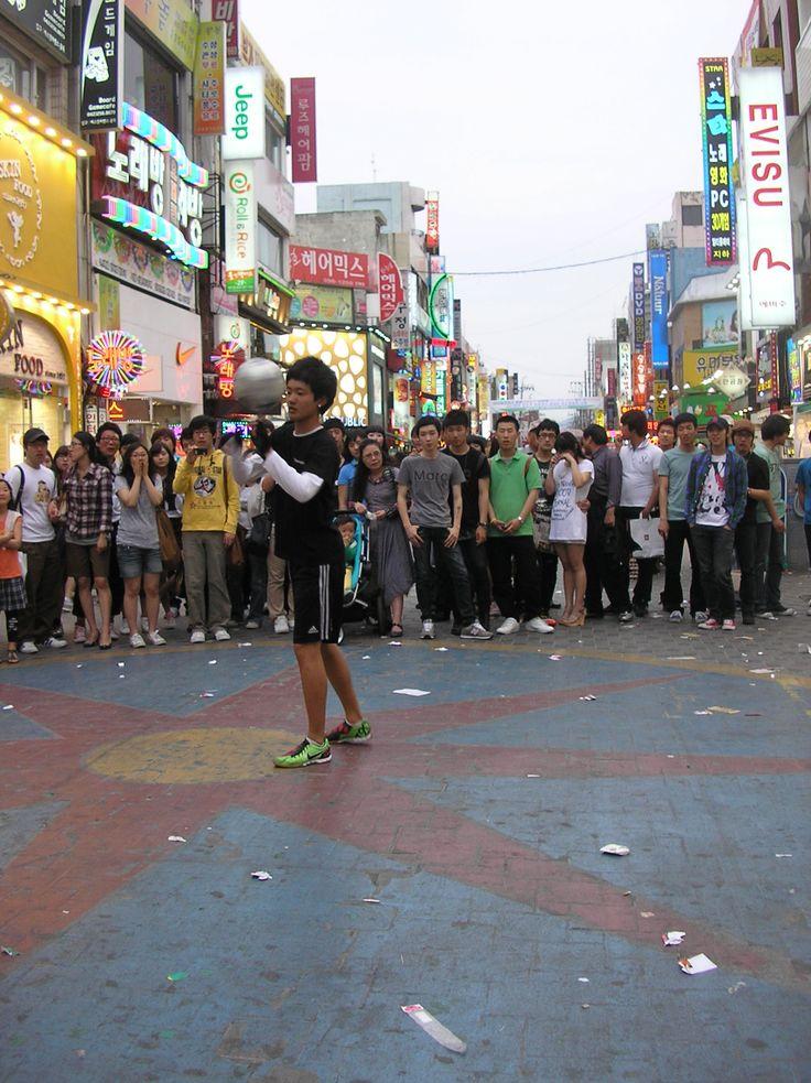 daejeon streets