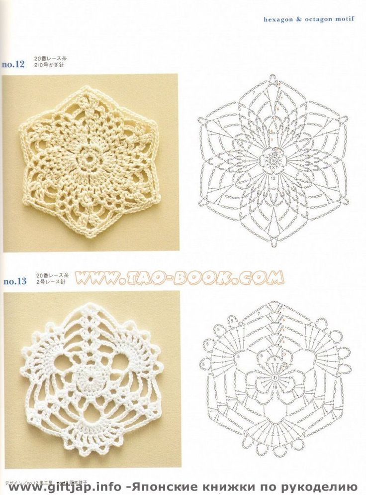 crochet patterns - could be cute for coasters