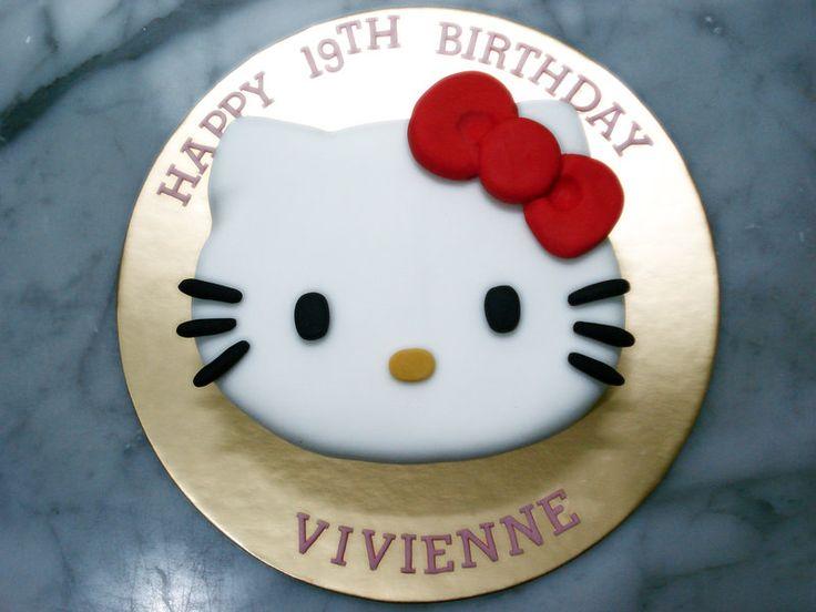Hello Kitty Cake by Sliceofcake
