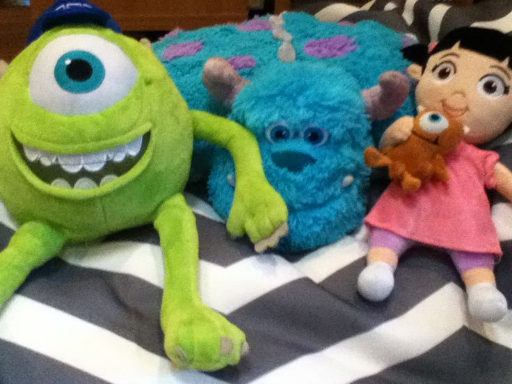 Myself Sulley and Boo