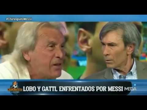 ARGENTINOS DISCUTEM EM PROGRAMA DE TV No meu tempo Messi ficaria no banc...