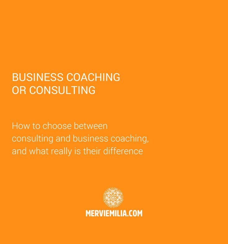 Do you need a business coach or a consultant for your business at this time? What is the difference between these two? Should you call your services as coaching or consulting? These and more answers in one!
