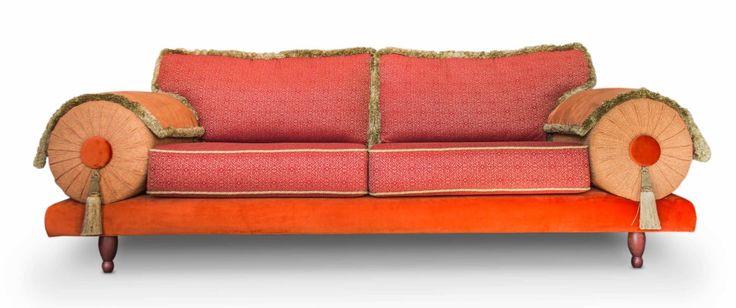 25 beste idee n over rode sofa op pinterest rode sofa decor rode bank kamers en rode banken - Poef personnes ...