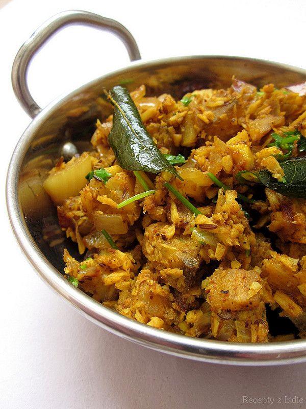 Recepty z Indie: Plantain masala