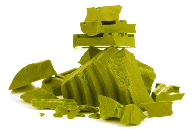 Matcha Schokolade zum Selbermachen – Rezept  #Matcha #Schokolade #DIY #Rezept