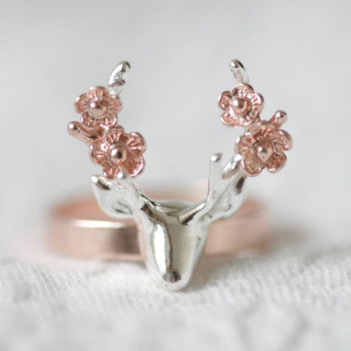 Blooming Buck Ring