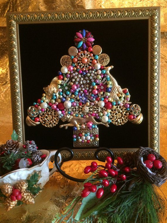 Vintage Jewelry Christmas Tree Animal Festival Products