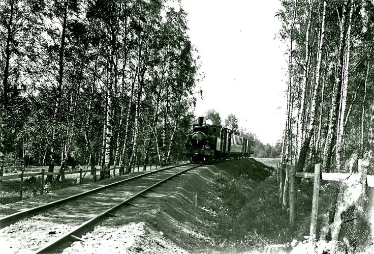 Forts! En enkel resa 2   Skövde Axvalls Järnväg SAJ