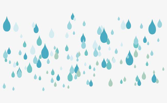 Vector Raindrops Rain Drops Rain Vector