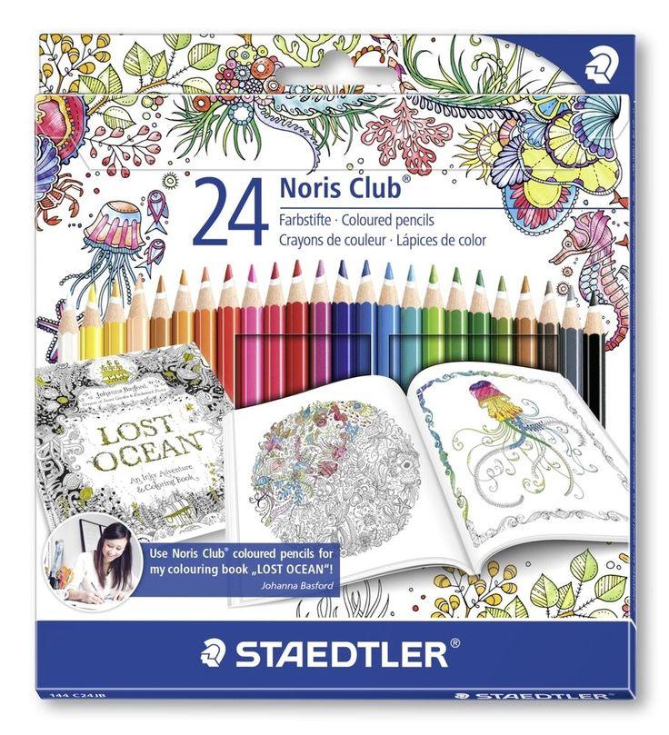24 Staedtler Noris Club® 144C24JB/Colouring Pencils/Johanna Basford Edition/ART