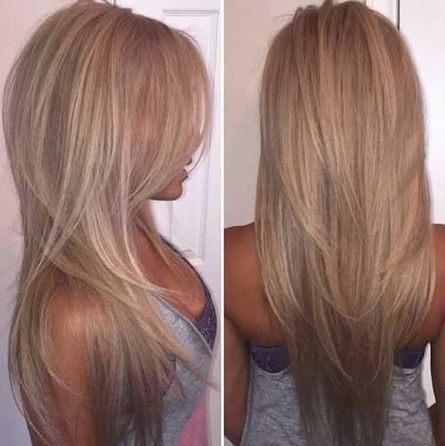 Long Hairstyles 12 trendy hairstyles for long faces Could I Get Away With A Few Short Layers In The Back