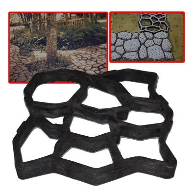 Majster Dlaždič - forma na betónové chodníky: Vyrobte si vlastný ozdobný a odolný chodníček zbetónu ľahko a rýchlo pomocou Majstra dlaždíc! Forma na betón Majster Dlaždič je ideálny pre realizáciu vlastných nápadov na záhradkách či chatách. Môžete si…