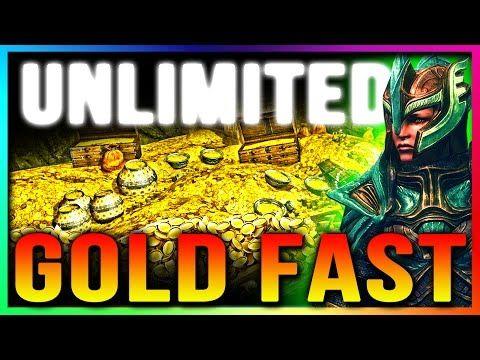 Skyrim Special Edition UNLIMITED GOLD Glitch (TOP 5 Secret