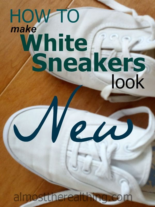 How to make your white canvas shoes look new again