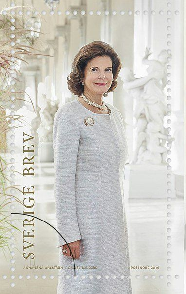 New stamps featuring images of King Carl XVI Gustaf, Crown Princess Victoria, Princess Estelle, and Queen Silvia have been released to mark the Kings 70th birthday in April as well as Carl Gustaf and Silvias 40th wedding anniversary