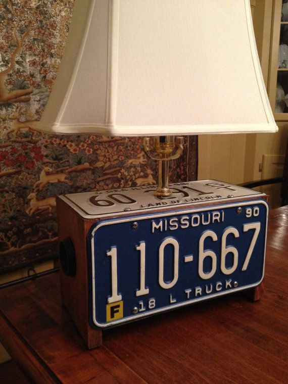 20 Best Images About License Plate Crafts Ideas On Pinterest License Plates Missouri And Crates