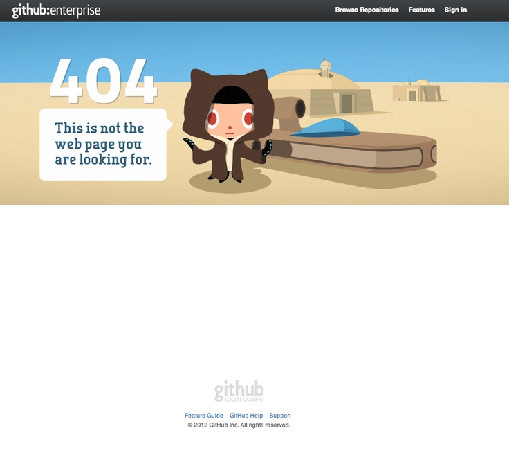 One of the best 404 pages I've seen