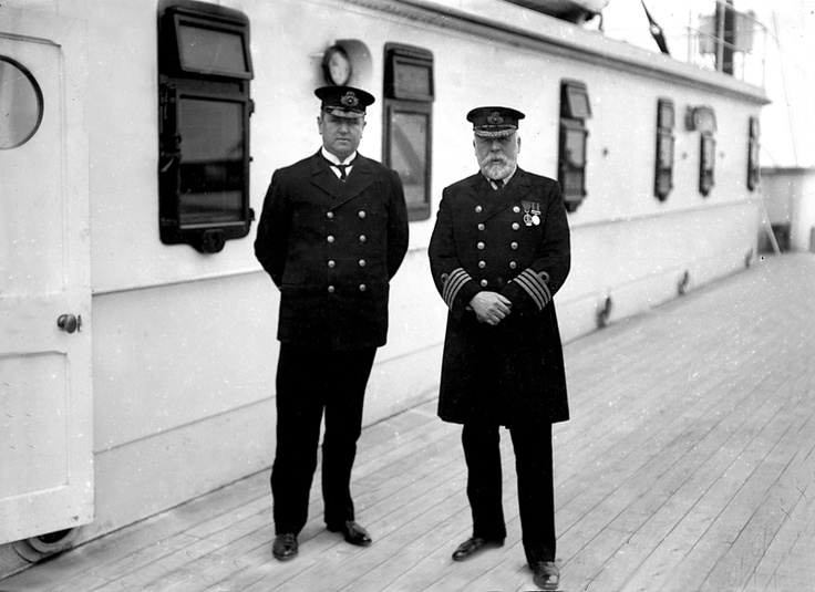 The captain's last voyage was truly his last. - he was going retire but then they asked him to be the captain of the titanic..he promises his wife and daughter he would retire after the titanic