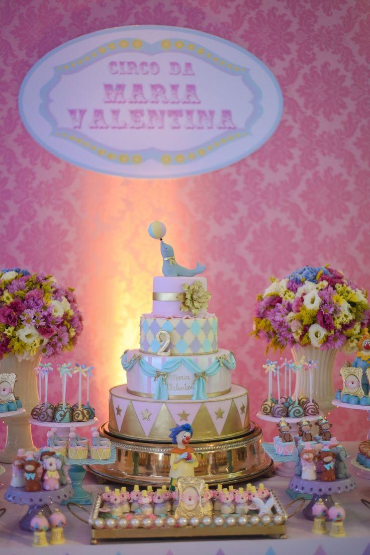 Decoracao fazendinha luxo bolo falso ccs decoracoes eventos car - Um Circo Cheio De Amor Para Maria Valentina Ficha T Cnica Bolo Jessica