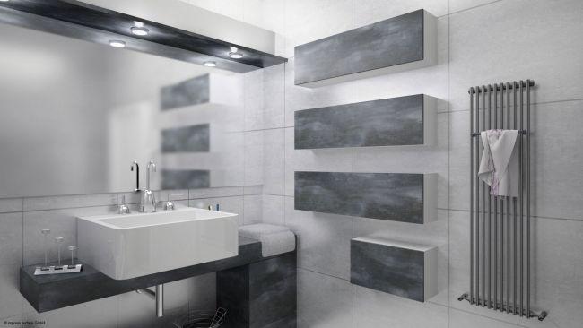 KoskiMel-sävy Caledonia kylpyhuonekalusteissa
