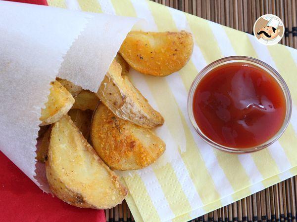 Batatas rústicas super saborosas, Receita Petitchef