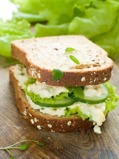 Sandwichs de concombre : Recette de Sandwichs de concombre - Marmiton
