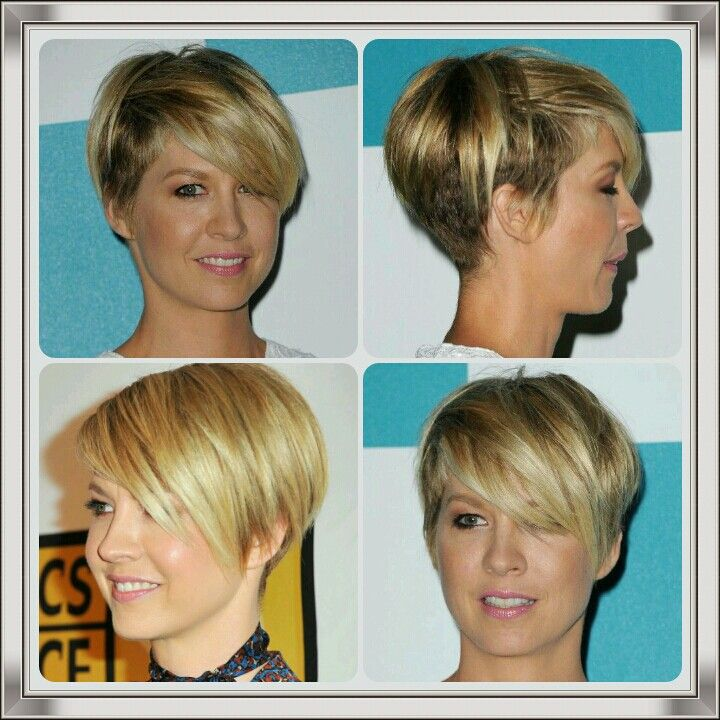 Jenna Elfman Short Hairstyles                                                                                                                                                     More