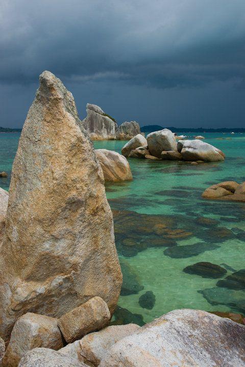 Rocks - Belitung, Sumatra, beautiful places to visit in Indonesia.