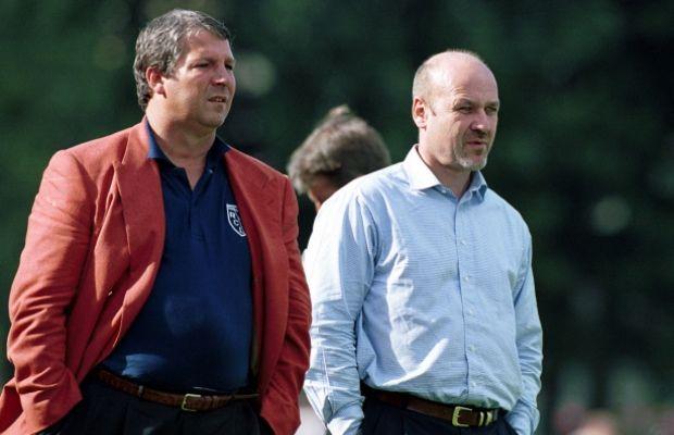Rolland Courbis et Jean-Luc Arribart en 2000