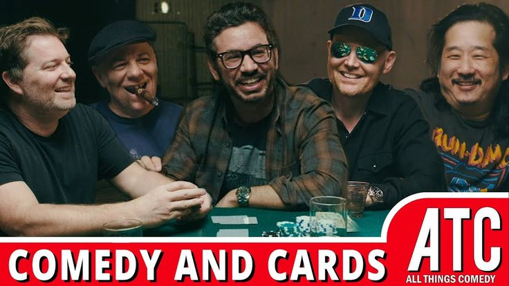 Comics Playing Cards w/ Bill Burr Al Madrigal Jay Larson Bobby Lee & Eddie Pepitone